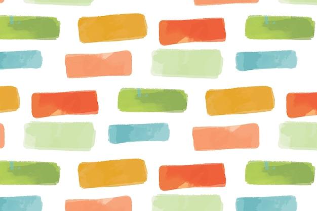 다채로운 기하학적 원활한 패턴 배경