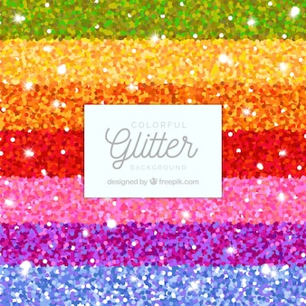 Colorful glitter stripes background