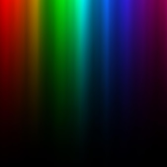 Красочный светящийся свет радуги. полярный эффект северного сияния. прозрачный элемент графического дизайна для флаера, плаката, обложки книги, открытки и приглашения. абстрактный светящийся фон. векторная иллюстрация.