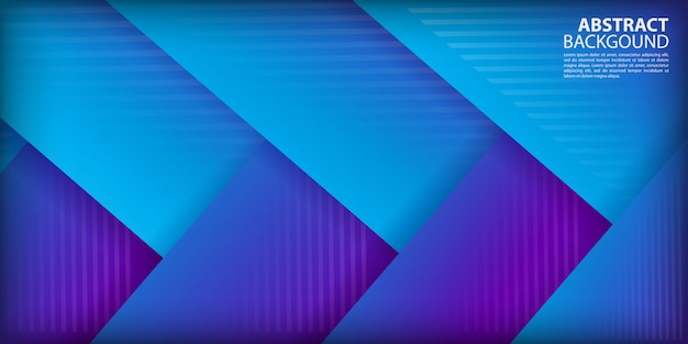Colorful gradient arrow shapes background