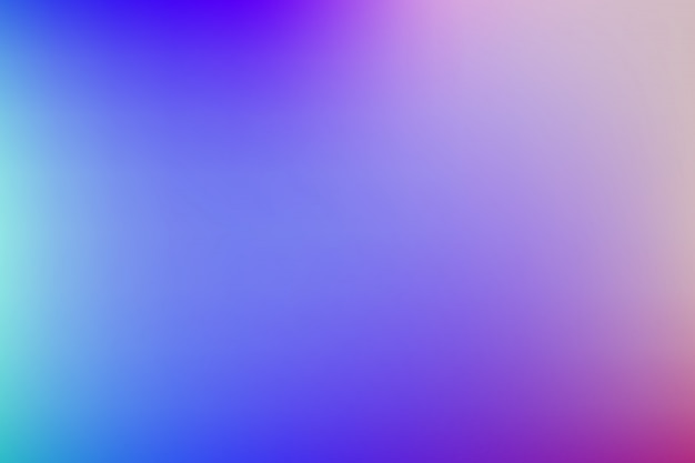 明るい色でカラフルなグラデーションの背景。
