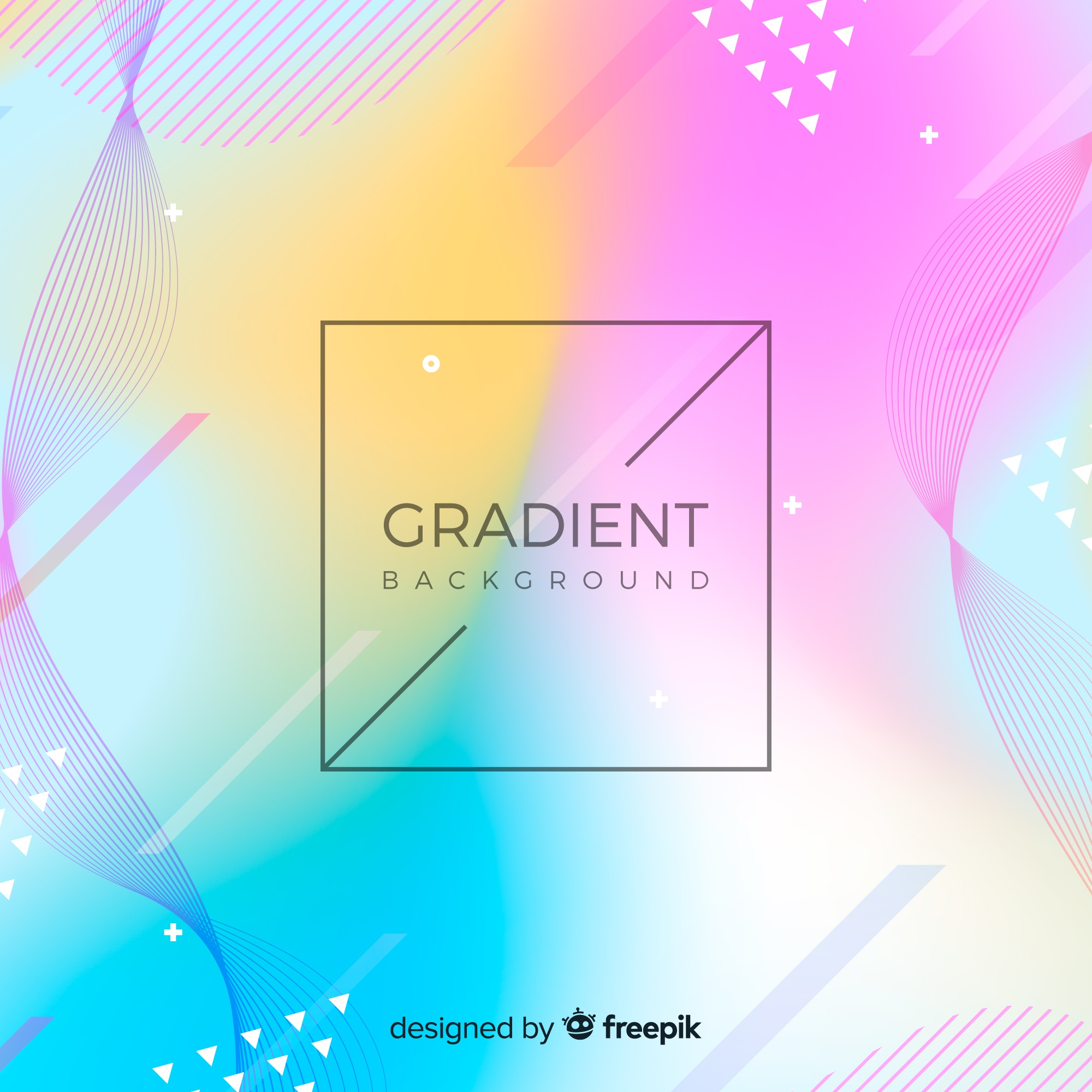 Colorful gradient background