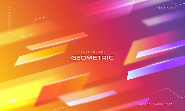 Colorful gradient motion shades background