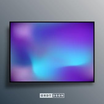 화면 배경 화면, 전단지, 포스터, 브로셔 커버, 타이포그래피 또는 기타 인쇄 제품에 대한 다채로운 그라데이션 질감 배경입니다. 삽화