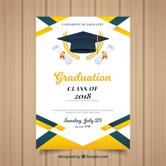 graduation invitation vectors photos and psd files free download