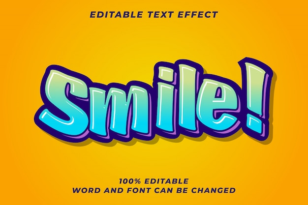 Colorful graffiti text style for youth
