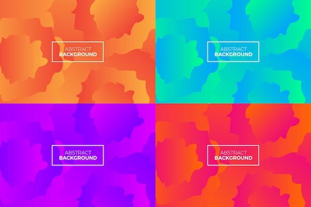 Красочный гранж эффект кинематографический современный фон аннотация