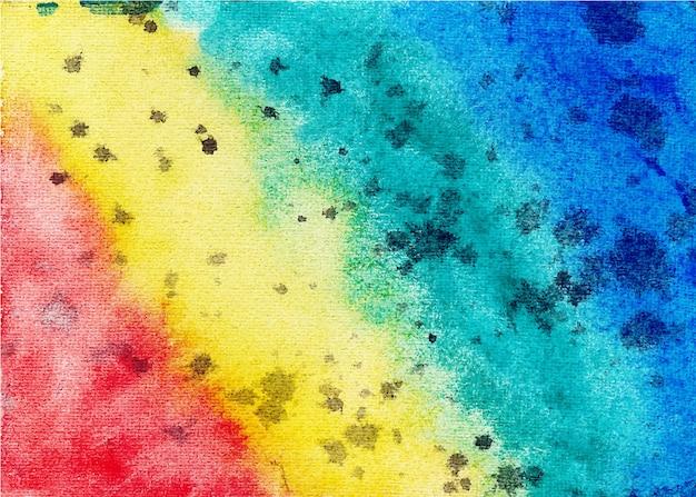다채로운 손으로 그린 벡터 수채화 질감 배경