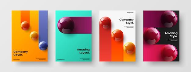 다채로운 광고지 벡터 디자인 레이아웃 구성