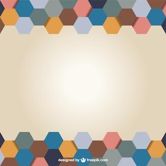 Бесплатный шаблон шестиугольник