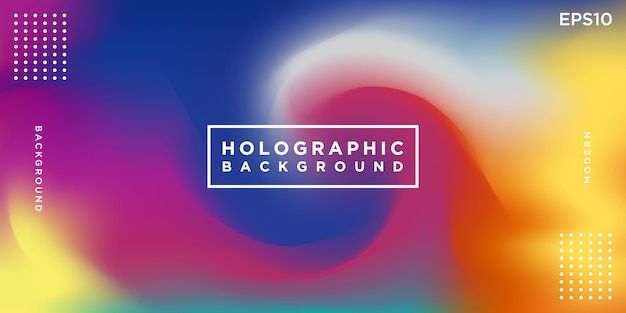 Colorful holographic abstract background