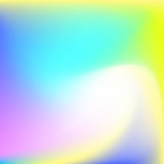 カラフルなホログラフィック背景
