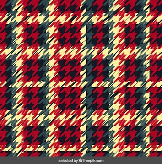 Colorful houndstooth background