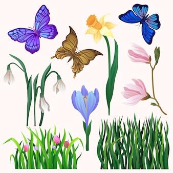 Colorful illustration isolated on white background.