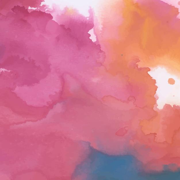 カラフルなインク水彩テクスチャ背景