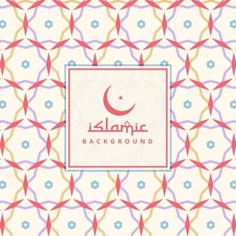 Sfondo modello di progettazione islamico