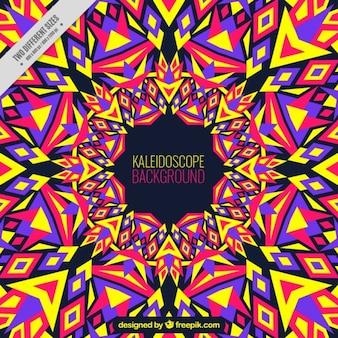 Colorful kaleidoscope background