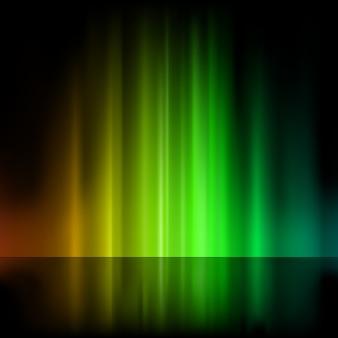 カラフルな光の噴水