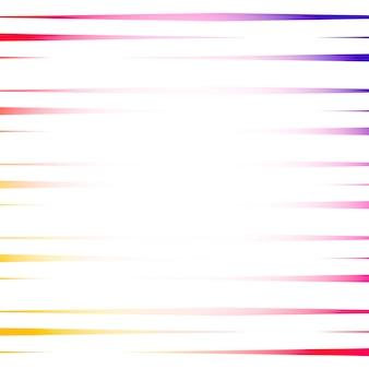 Красочный линейный абстрактный фон вектор