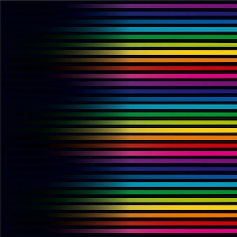 Colorful lines horizontal background