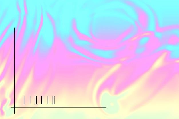Colorful liquid background
