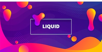Colorful liquid