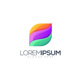 Colorful logo template