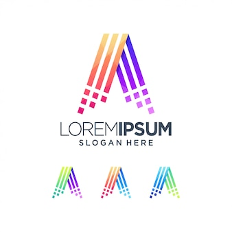 A colorful logo