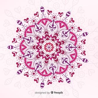 Colorful mandala concept background
