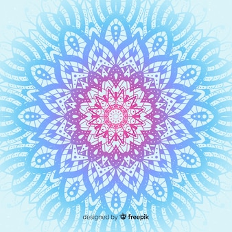 Colorful mandala concept background