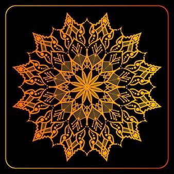 Colorful mandala design