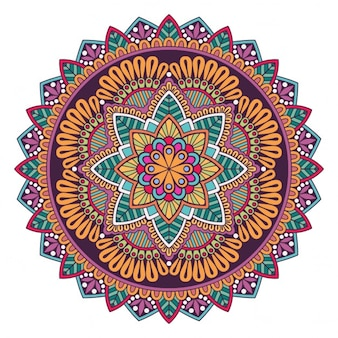 A colorful mandala