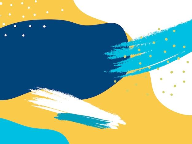 Красочный дизайн-фон мемфиса