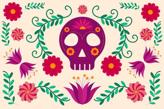 화려한 멕시코 배경
