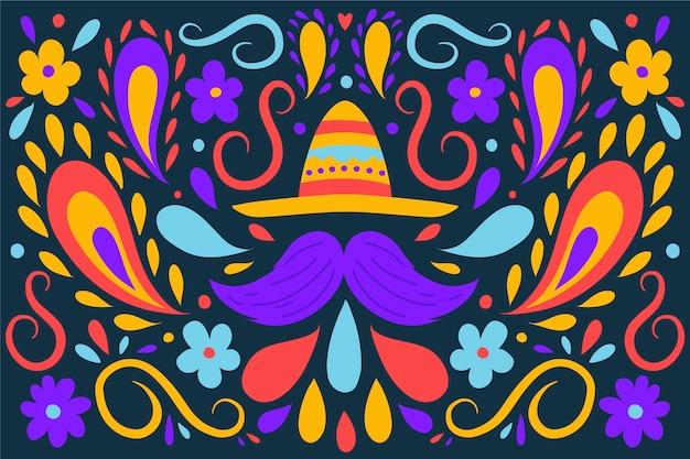 Sfondo messicano colorato