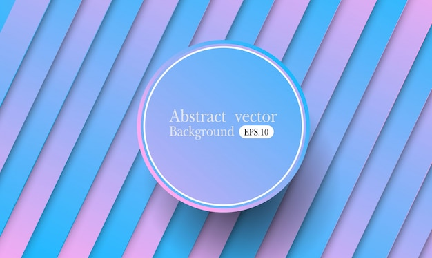 Colorful minimal geometric background. fluid shapes composition. eps10 vector.
