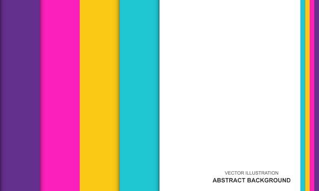 다채로운 현대 추상적인 배경 개념