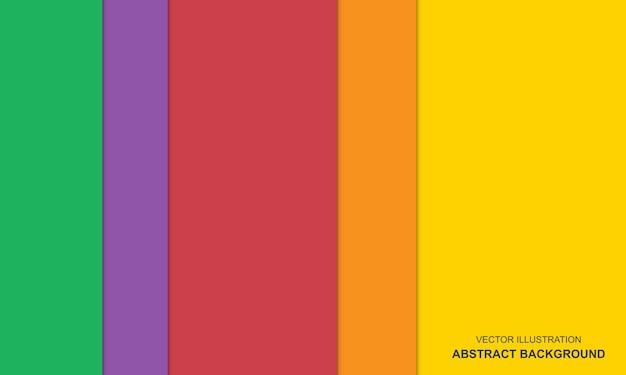 다채로운 현대적인 디자인 추상적인 배경 개념