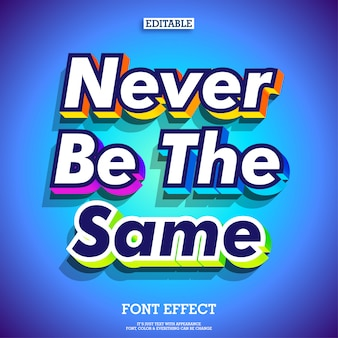 Colorful modern extrude 3d life inspiration quote