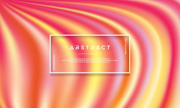 Colorful, modern, flow vector background.