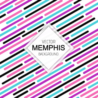 Colorful Modern Memphis Pattern Background