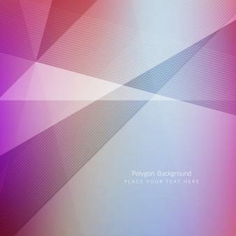 Colorful modern polygonal background