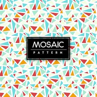 Colorful Mosaic Seamless Pattern Background