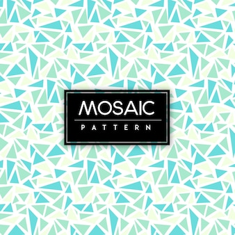 Colorful Mosaic Seamless Pattern Background