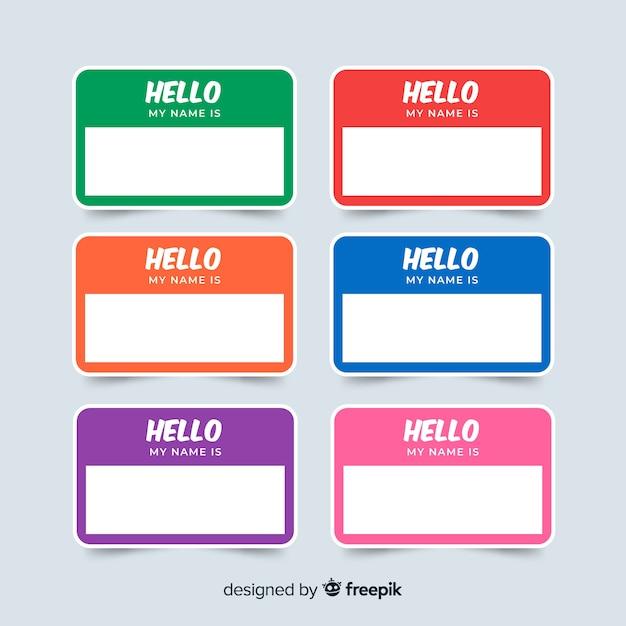 Name Tag Design Template Suyhi Margarethaydon Com