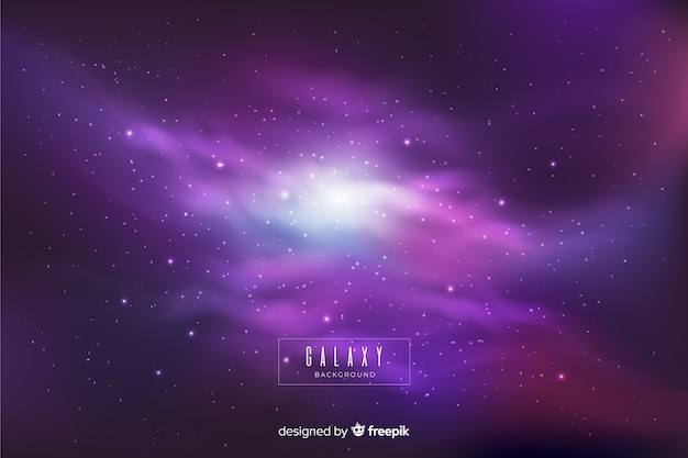 Colorful nebula galaxy background