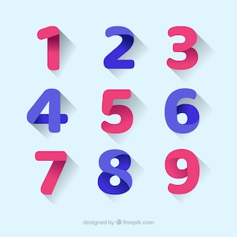 Number vectors photos and psd files free download for Blueprint number
