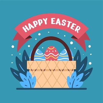 Красочные декоративные пасхальные яйца иллюстрации