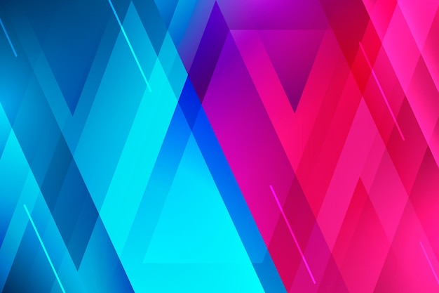 Colorful overlapping forms background