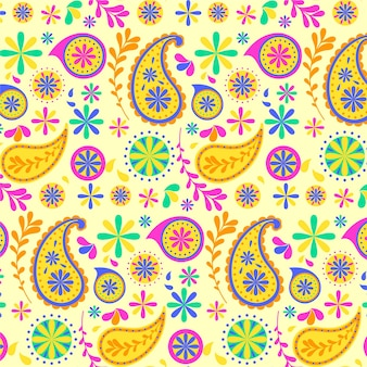 Красочный узор пейсли